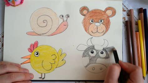 sevimli hayvan cizimleri  easy animal  drawn