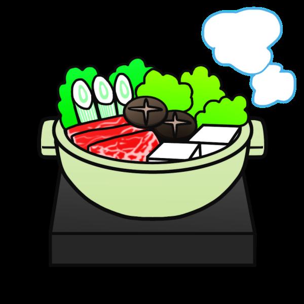 お鍋のイラスト かわいいフリー素材が無料のイラストレイン