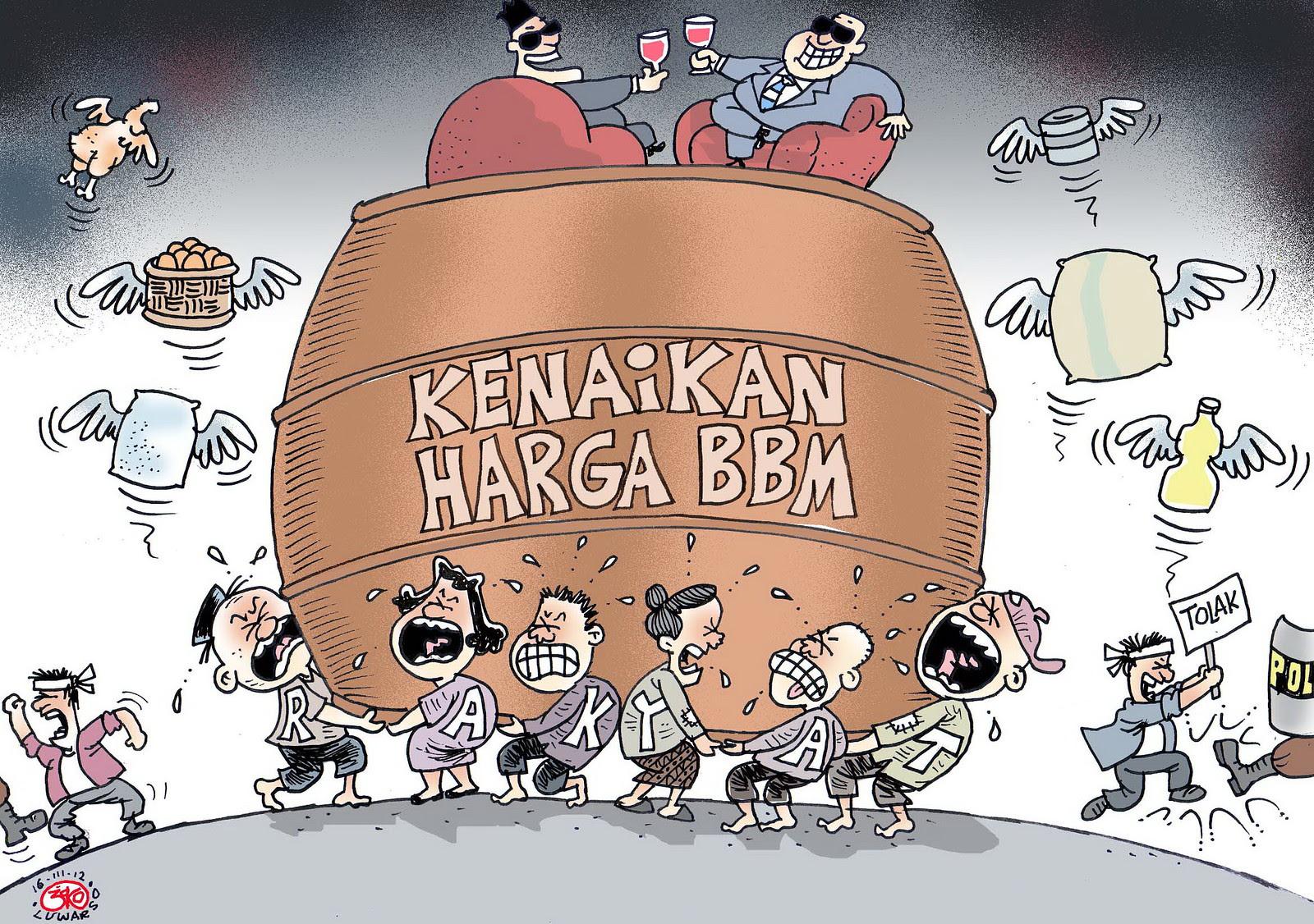 Kumpulan Karikatur Tentang BBM