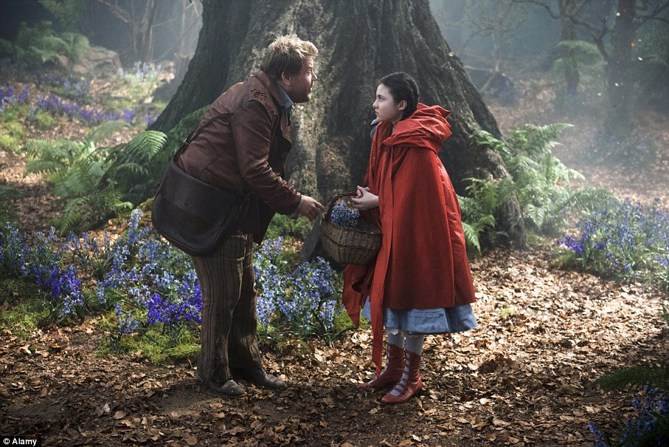 The ancient pine forest of Windsor Great Park outside London features prominently in the feature film Into The Woods