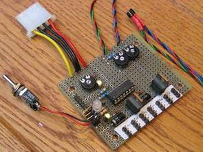 Điều khiển tốc độ quạt PWM với PIC16F876 LM60 BUZ72