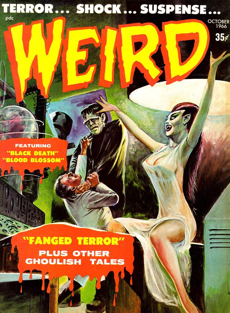 Weird Vol. 01 #12 (Eerie Publications, 1966)