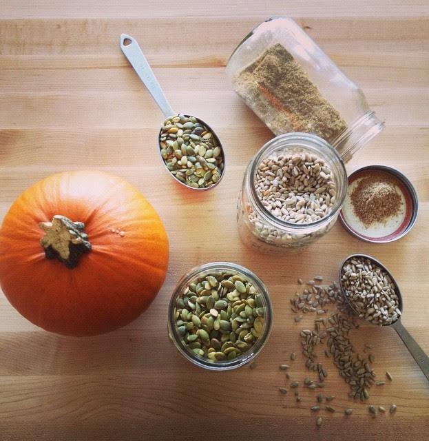 Pumpkin Seed Butter (Gluten-Free, Dairy Free) - A Byte of Life