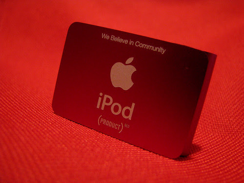 Little red ipod