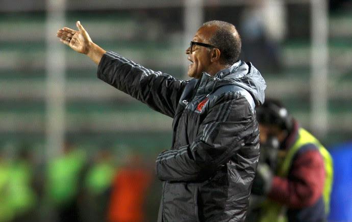 Jayme de Almeida, Bolivar x Flamengo (Foto: AP)