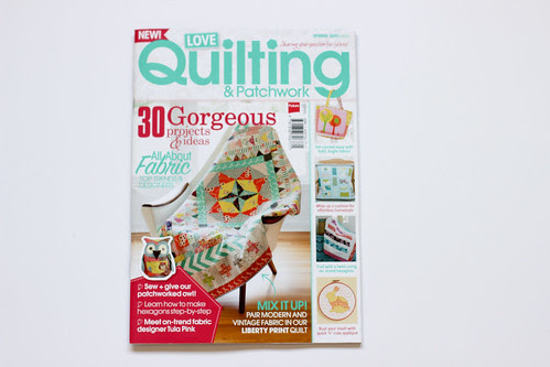 Love Quilting & Patchwork - Spring 2013 by Jeni Baker