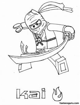 48 ninja tegninger til print images