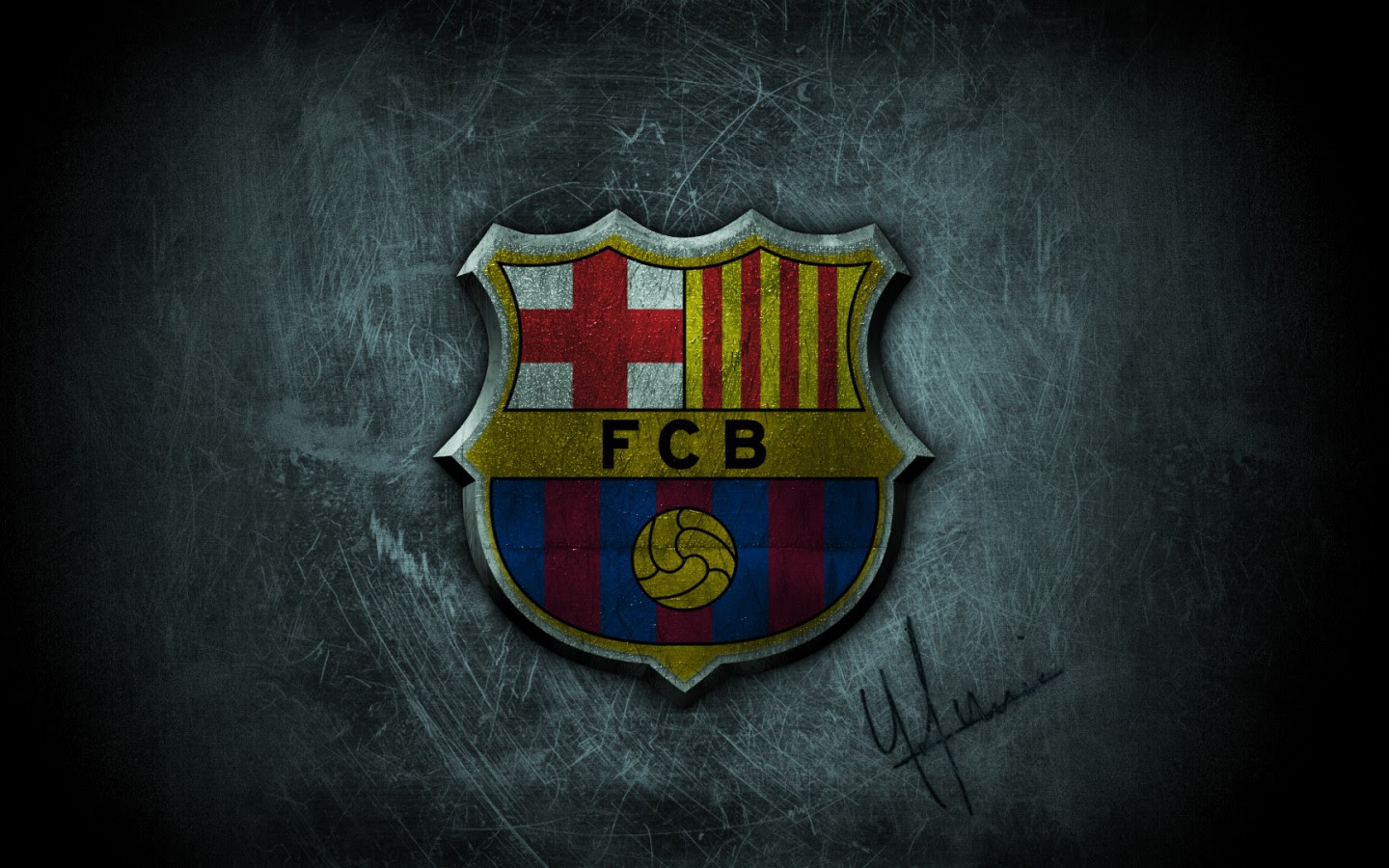 Fc Barcelona 3d Wallpaper