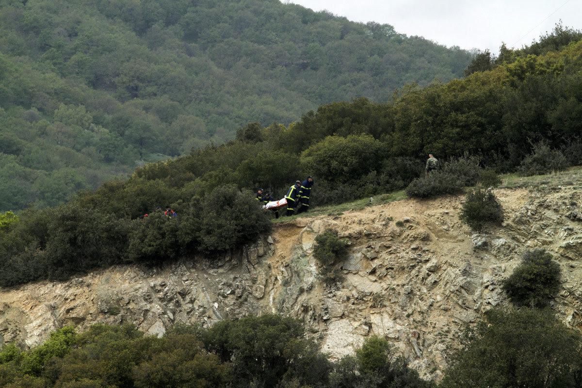Τα στοιχεία των στρατιωτικών που επέβαιναν στο ελικόπτερο