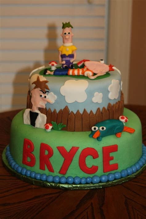 Phineas and Ferb Cakes ? Decoration Ideas   Little