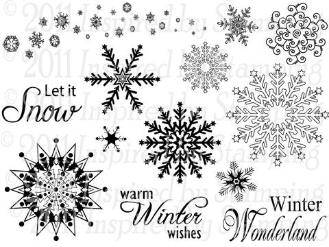 Inspired by Stamping Winter Wonderland Stamp Set