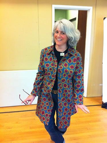 Alison's Amy Butler tunic top
