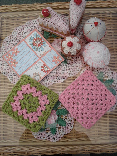 Joyce (Australia) Your Squares arrived this morning also! With a handmade card for the person who receives the Blanket with Joyces' Squares in! Thank You!