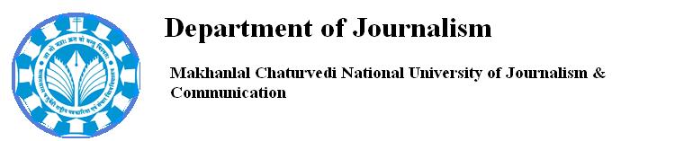 Department of Journalism, MCU