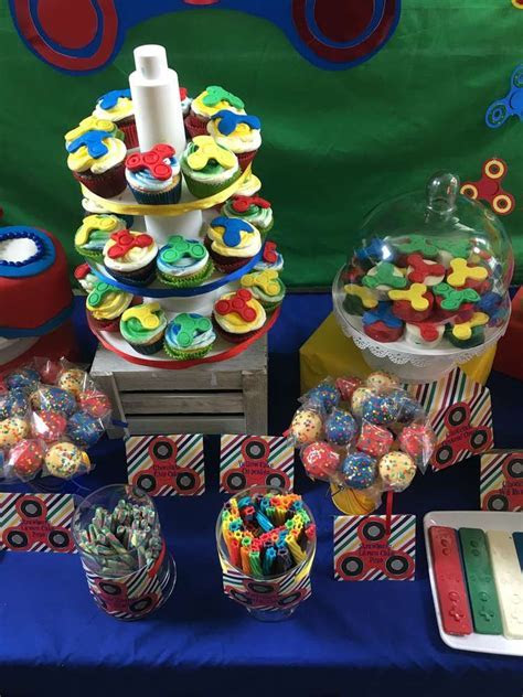 Fidget spinner/gaming party Birthday Party Ideas   Photo 2