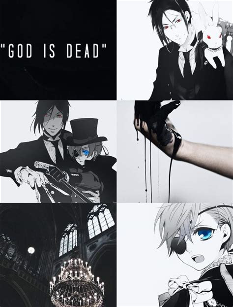 black butler aesthetic anime amino