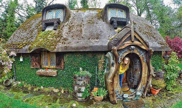 Stuart's hobbit house