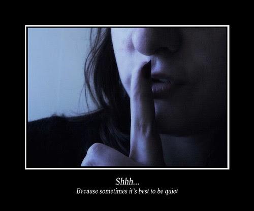 (183/365) Shhh.... by Sarah G...