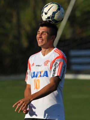 Mugni, Ninho do Urubu, treino, Flamengo (Foto: Gilvan de Souza/ Fla Imagem)