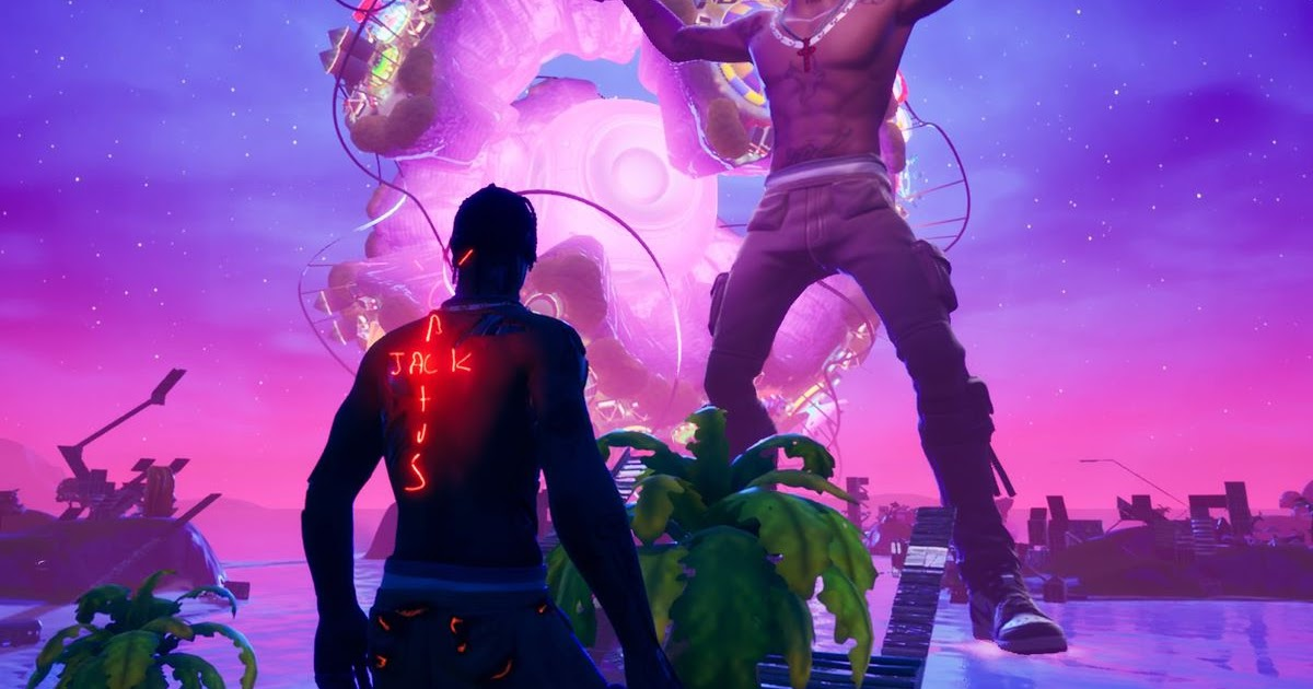 Travis Scott's first Fortnite concert was surreal and ...