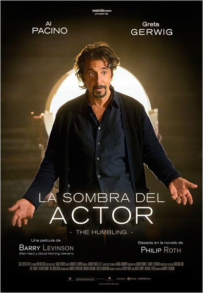 La sombra del actor : Cartel