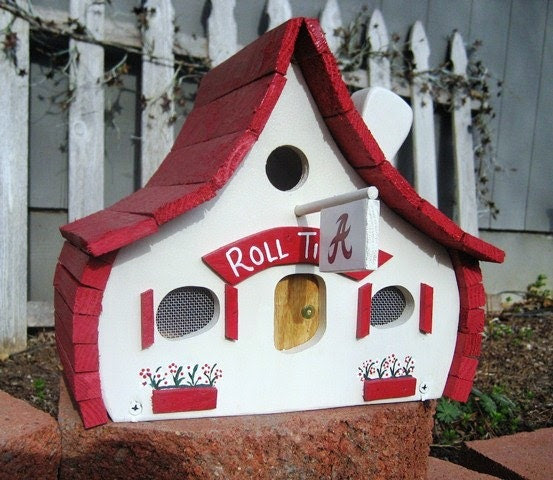 Alabama Crimson Tide Birdhouse....ROLL TIDE