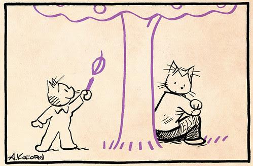 Laugh-Out-Loud Cats #1944 by Ape Lad