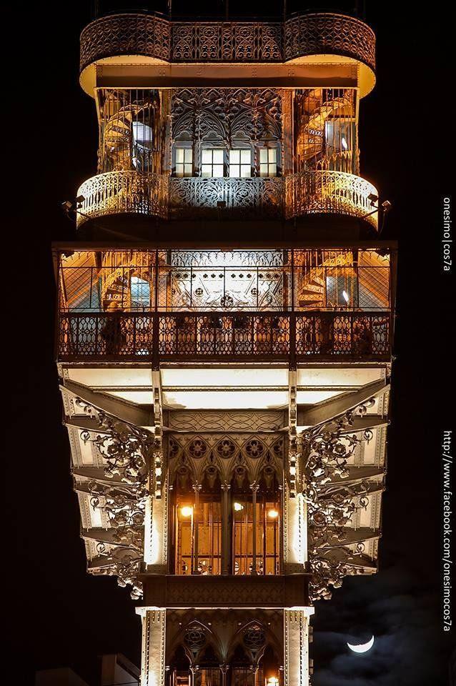 architecturia:  Lift Santa Justa
