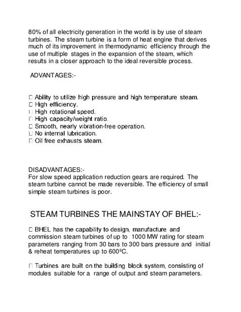 BHEL MECHANICAL ( 4TH YEAR ) INTERNSHIP -BLOCK-3(TURBINE SHOP)
