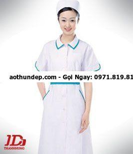 mẫu áo y tá