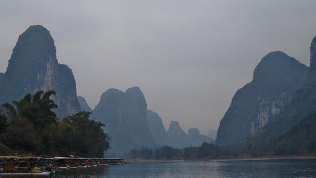 along the Li River, between Guilin and Yangshuo