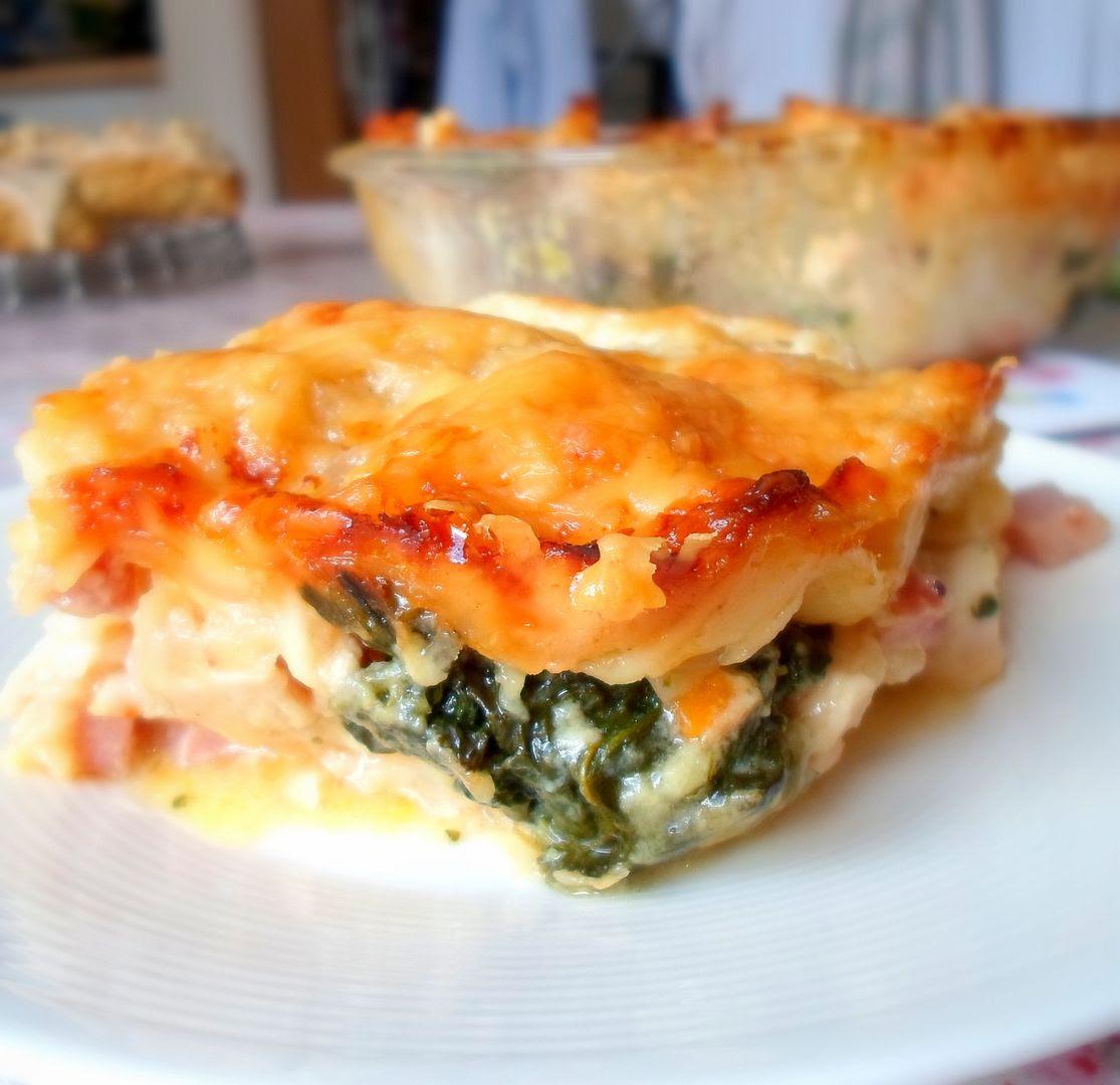 Chicken and Ham Lasagna