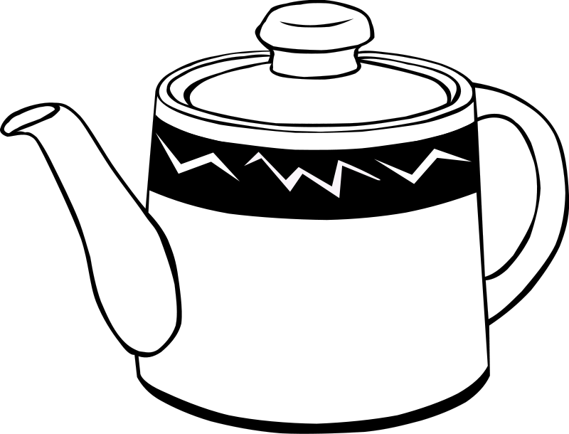 Teapot Clip Art Free Clipartsco