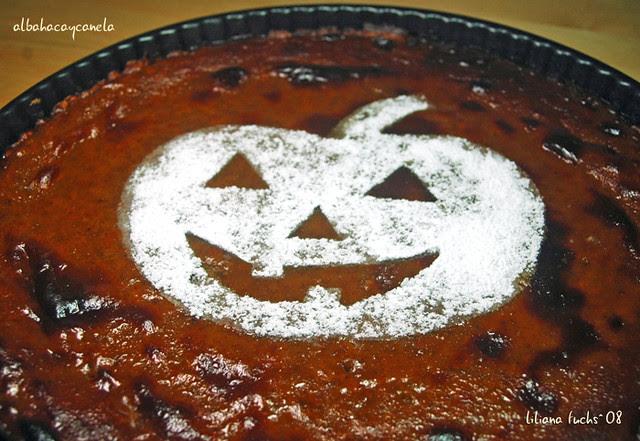 pumpkin halloween pie