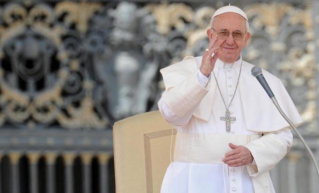 El papa Francisco en la audiencia general.  Efe