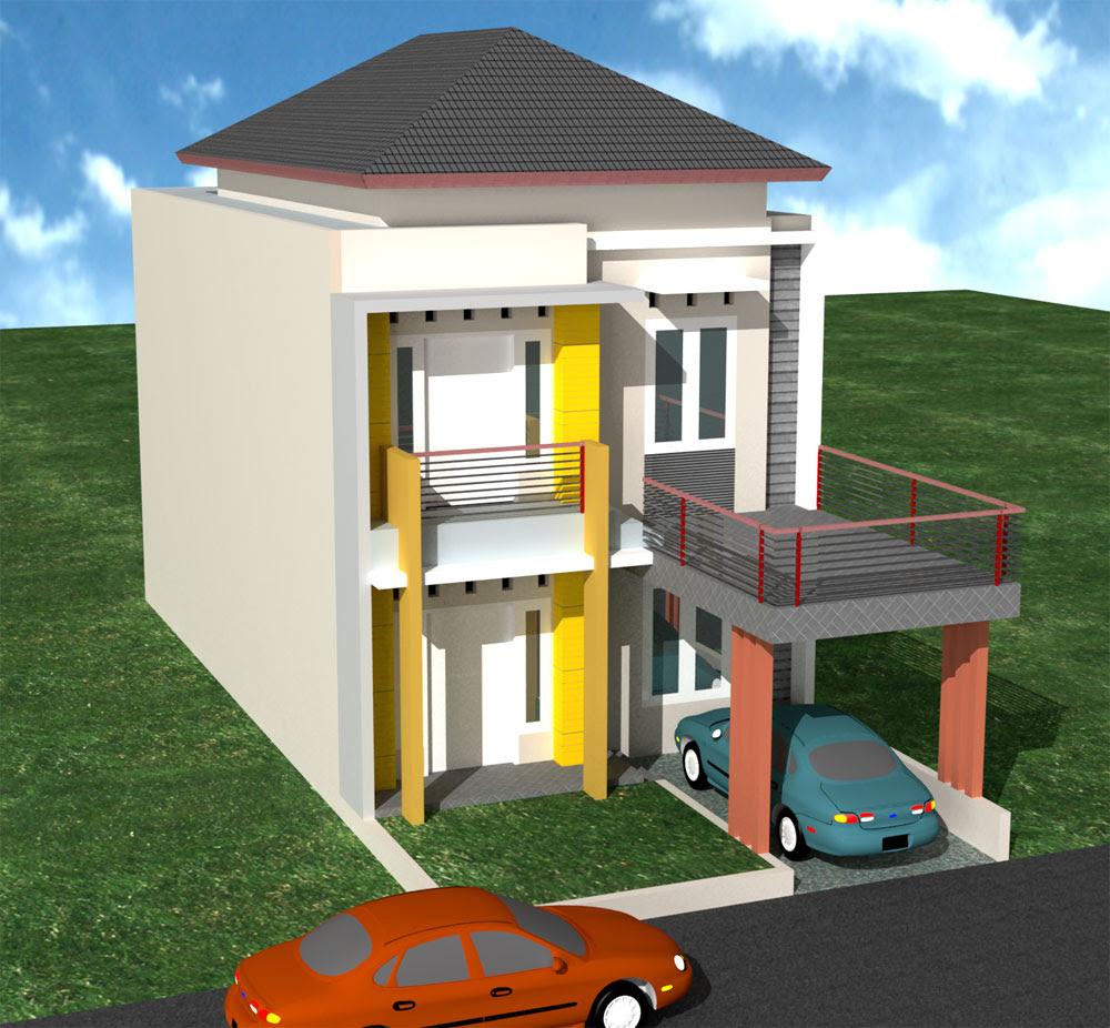 Desain Renovasi Rumah Type 36 2 Lantai | Desain Rumah ...