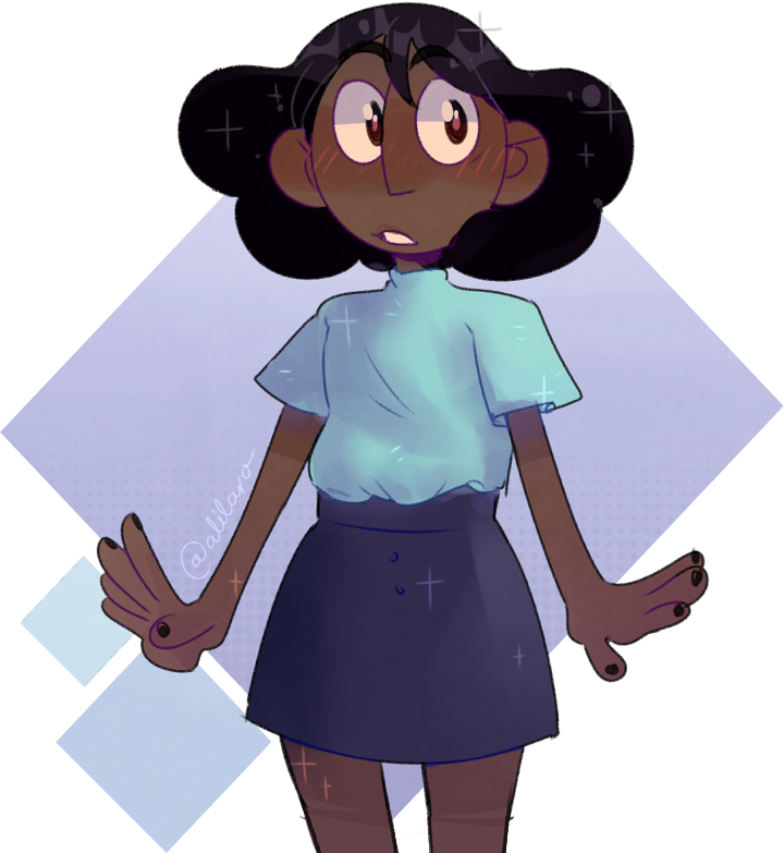 Connie in the new episode looked so cute with her new hair and outfit! I just had to draw her! 💙 { ⚜ do not trace, edit, or re-upload please ⚜ }