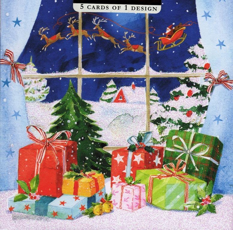 M&s Christmas Card Packs - Sinter B