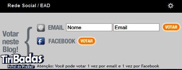 Escolha como quer votar (se puder vote pelas duas opções disponíveis)