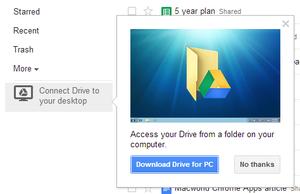 Download Google Drive companheiro aplicativo pequeno