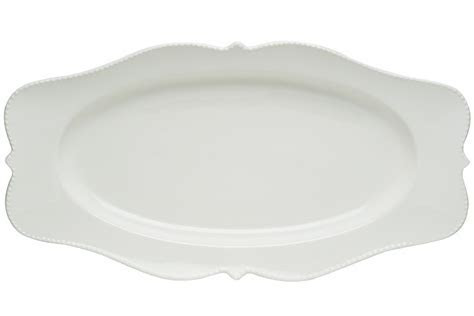 Pinpoint White Oval Platter 16.5 x 9 [PP100 316]   $37.95 : Red Vanilla   Homewares with Flavour