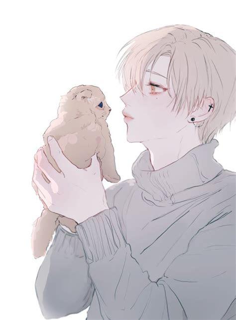 animeboy kawaii aesthetic neko kitten anime
