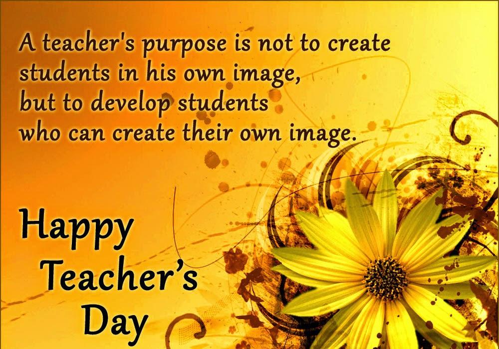 281 Words Short Essay On Teachers Day