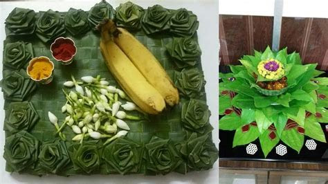 Decorative idea of betel leaf wedding tray    betel leaf