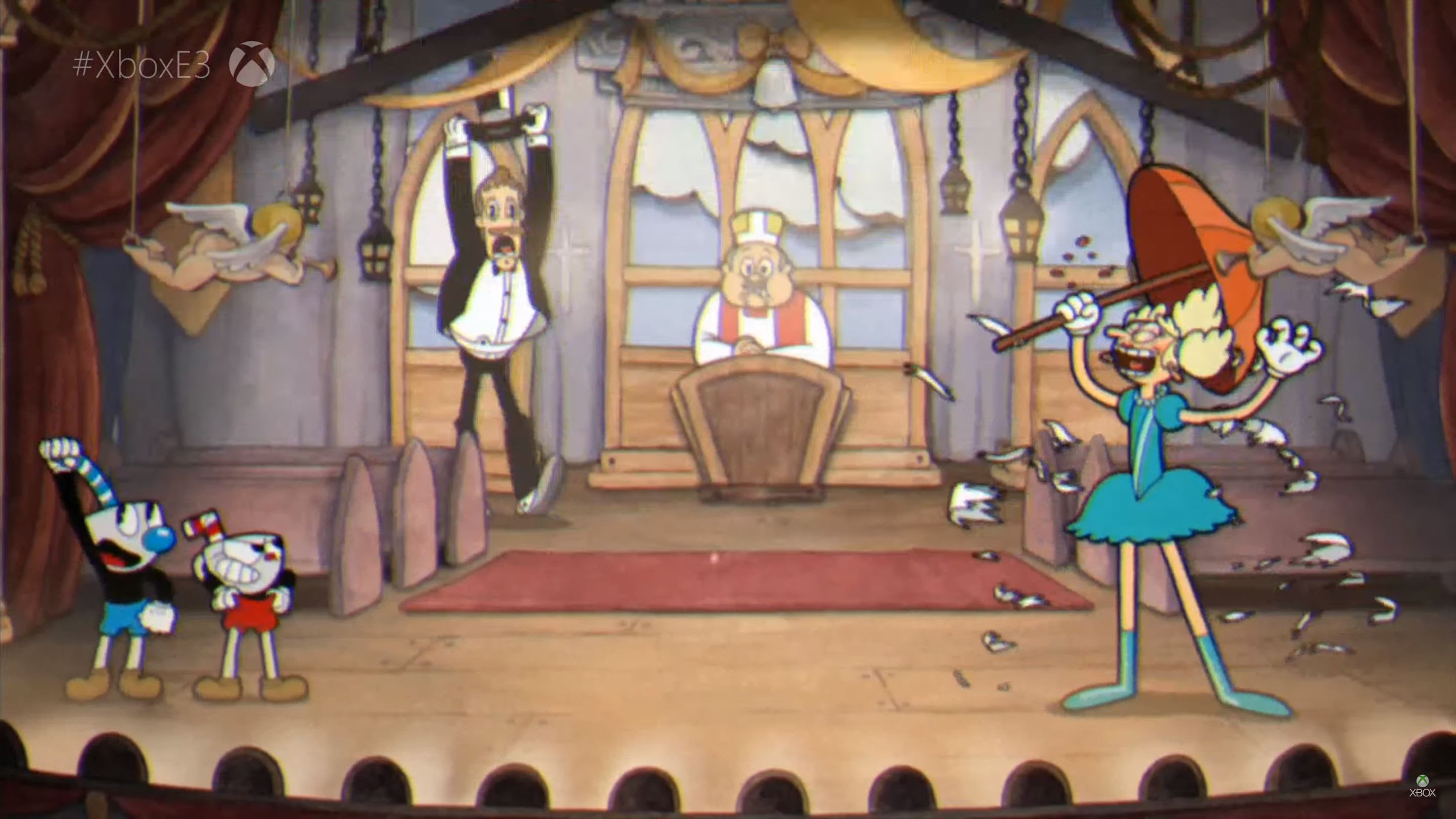 Cuphead was in Xbox's presser again, but it actually has a release date now screenshot