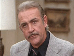 Sean Connery in METEOR