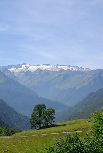 Vista del Glaciar del Aneto