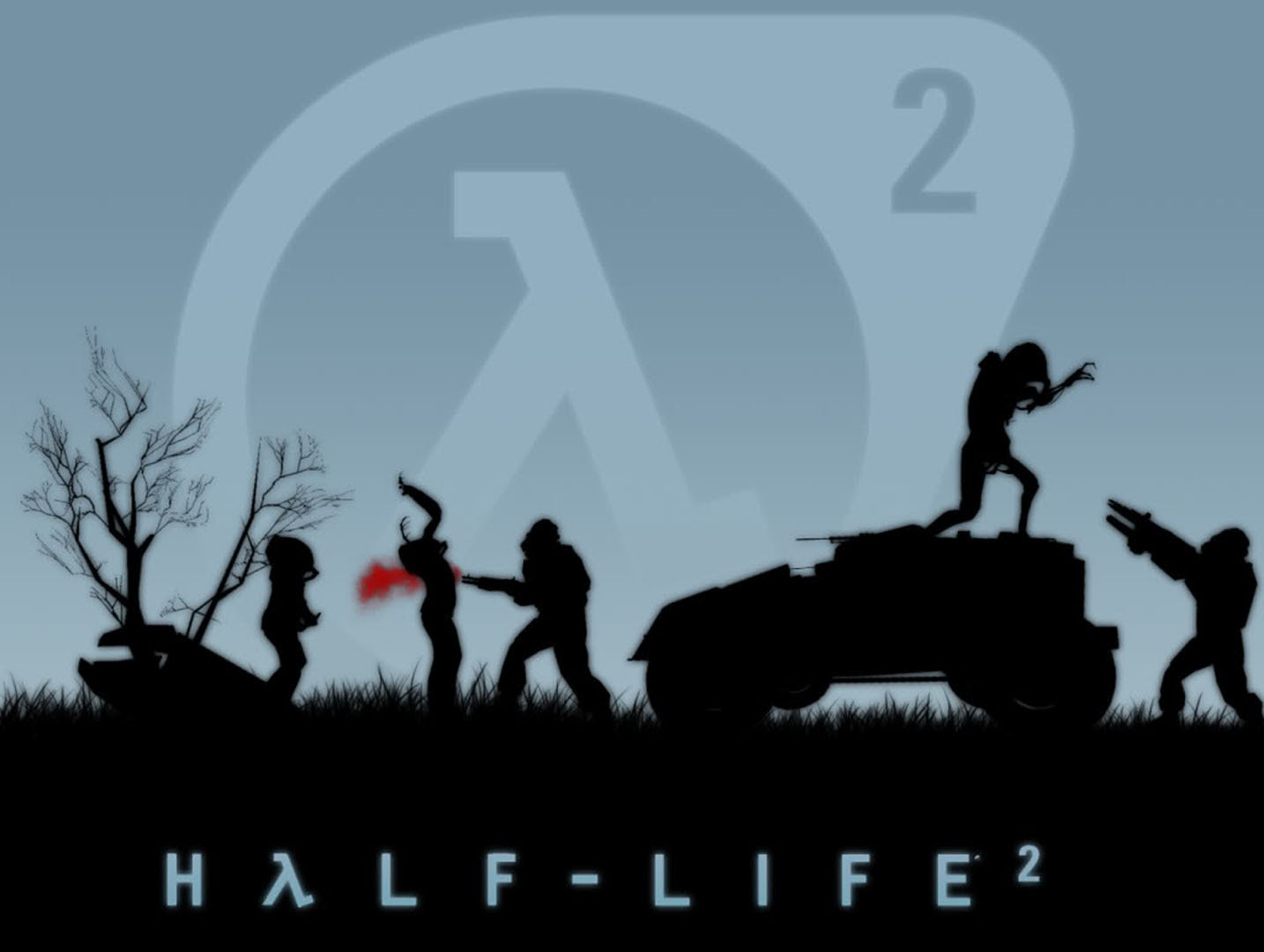 Combine Versus Headcrab Zombies Half Life 2 Wallpaper
