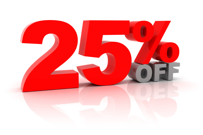 25% OFF - This Week Only
