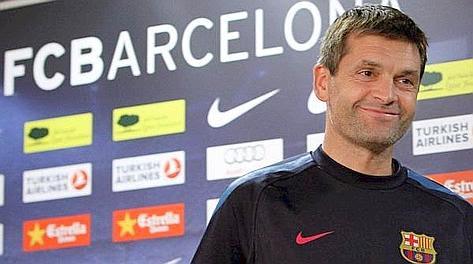 Tito Vilanova, 42 anni, guiderà il Barça nel 2012-13. Ansa
